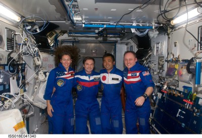 ISS-Besatzung Expedition 18