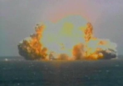 Explosion der Sea Launch ZENIT