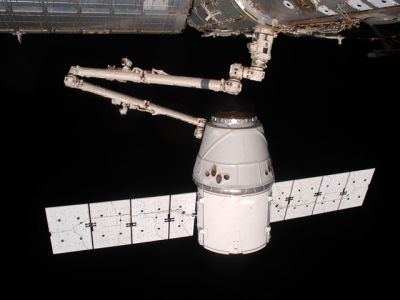 DRAGON an der ISS
